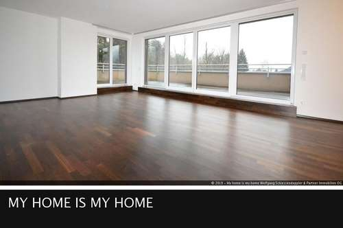 AIGEN | Per Lift ins himmlische Penthouse mit Panorama-Terrasse