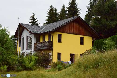 Einfamilienhaus Nähe Millstättersee, Einbauküche, Carport, großer Garten, Waldlage, Terrassen