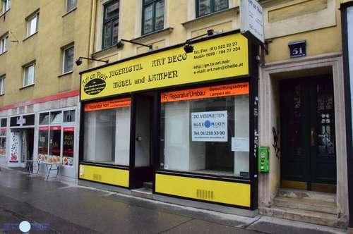 Geschäftslokal, Lerchenfelderstraße, RENOVIRUNGSBEDÜRFTIG, keine GASTRO erlaubt!