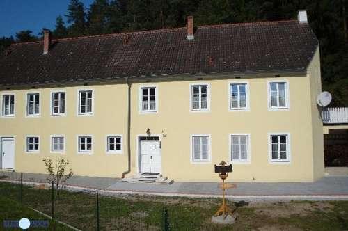Wegscheid am Kamp, Zweifamilienhaus, Garten, Holzhaus, Seminarobjekt, Ruhelage,