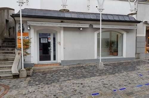 Geschäftlokal mit Gewölbekeller, direkt in der Melker Altstadt