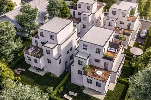 Neubau Doppelhaus - 5 Zimmer + Galerie, Wohnkeller, Klima, Ziegelmassiv...