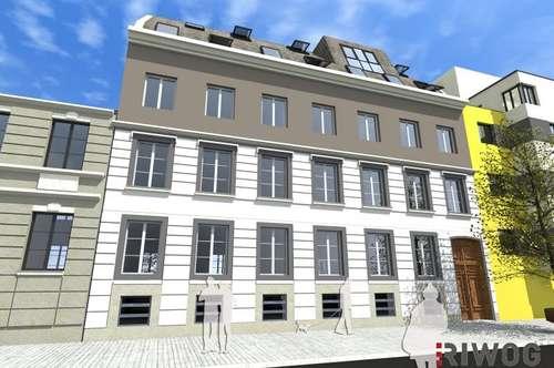 * Urban & Exklusiv * 2 Zimmer Altbau-Erstbezug mit Balkon