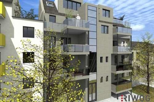 * Urban & Exklusiv * 2 Zimmer Erstbezug-Wohnung mit Top-Raumaufteilung