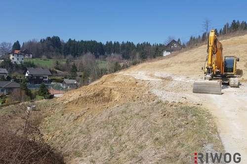 BAUSTART bereits erfolgt ... Wohnen über Voitsberg - *Projekt Terrassenberg* stellt sich vor .. (DHH 3)