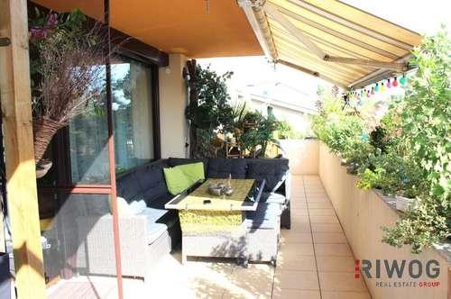 SONNIGE Familienwohnung mit kleinem Handwerksbedarf und einer sensationellen Terrasse
