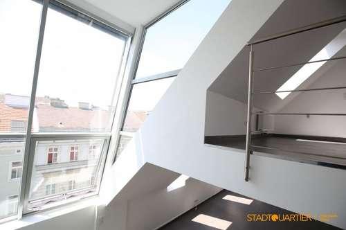 1190 – ca.170m² DG Maisonette mit Terrasse und wenig Schrägen!