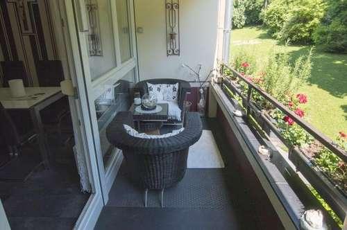 Baden: sehr schöne ruhige 3 Zimmer-Wohnung mit Loggia in wunderschöner Lage