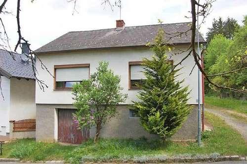 Einfamilienhaus in Waldnähe, Obj. 12455-SZ