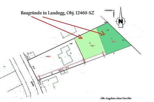 2 Nebeneinander liegende Baugründe in 2486 Landegg - Pottendorf, Obj. 12460-SZ