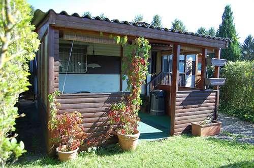 Mobilheim auf Pachtgrund mit 2 Schlafzimmern, Obj. 12256-SZ