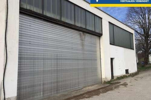 Lagerhalle - Verkaufshalle - Werkstatt im Herzen von Hainfeld