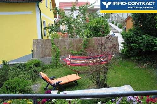 Eigentumswohnung mit Gartennutzung!
