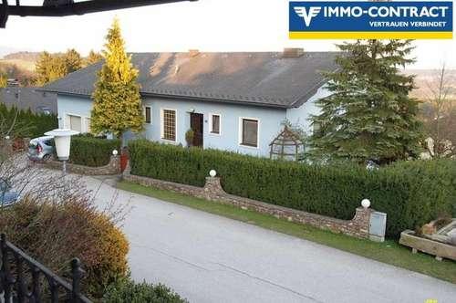 Auf der Sonnenseite  -  Solides Ein- u. o. Zweifamilienhaus