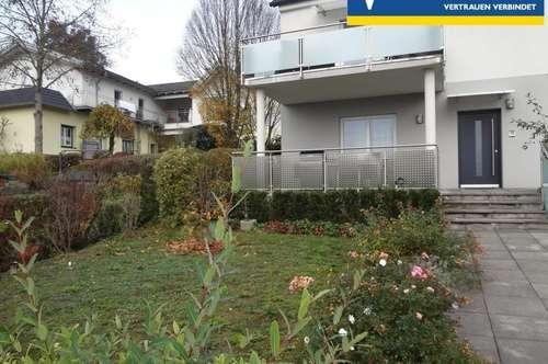 Moderne EG-Mietwohnung mit Terrasse und Garten