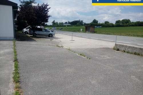 Gewerbe-, Lagerfläche an B122 Voralpenstrasse nebst Kreuzung nach Stadt Haag!