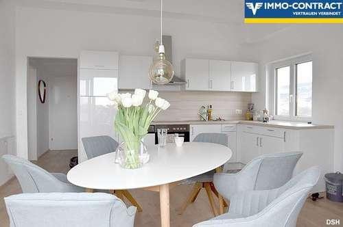 TOP 96m²-2Zi-DG-Wohnung - Ost+Westbalkon mit Göttweig und Wachaublick