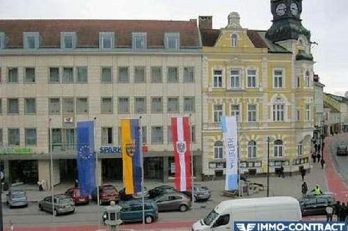 Attraktive Neubau - Büroflächen im Zentrum von Amstetten zu vermieten.