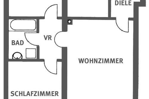 Schöne, geförderte 3 Zimmer Erdgeschoßwohnung mit hoher Wohnbeihilfe oder Mietzinsminderung mit Terrasse