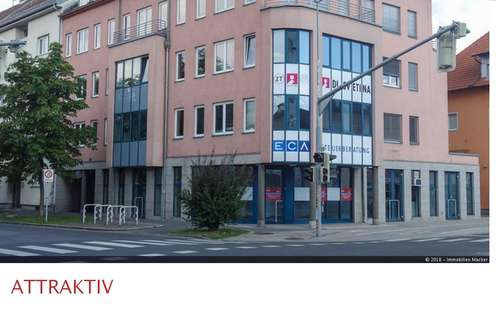 Attraktives Geschäftslokal in zentraler Lage in Klagenfurt