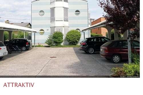 Möblierte 2-Zimmer-Wohnung in Uninähe mit Carport