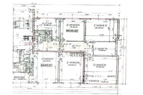 4 Raumwohnung, neu renoviert, ab sofort zu vermieten!