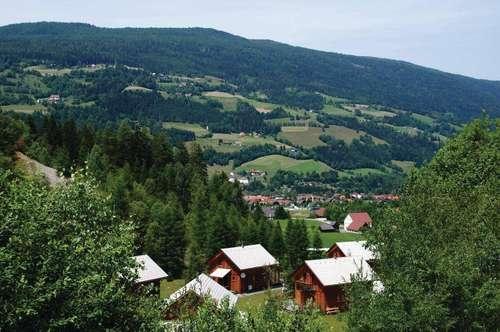 Holzchalet zur touristischen Nutzung nahe Skigebiet Kraischberg und Turrach