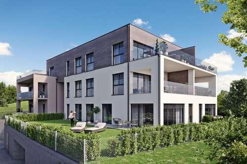 BAUSTART SEPTEMBER! HILLSIDE - Gartenwohnung mit Smart Home - TOP 3