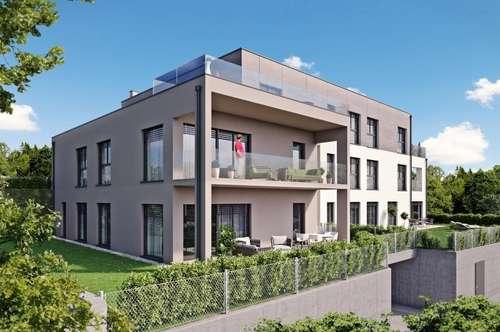 BAUSTART SEPTEMBER! HILLSIDE - Traumhafte Gartenwohnung inkl. Smart Home - TOP 1