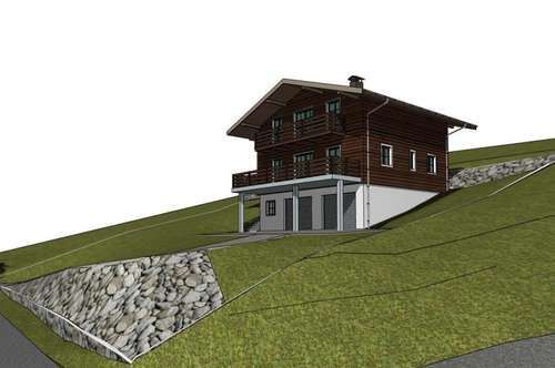 Baugrund mit genehmigten Wohnhaus Projekt