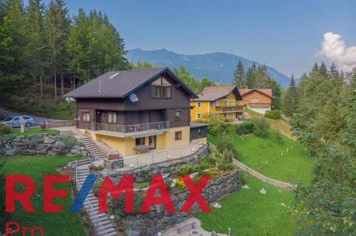 Traumhaftes Wohn- und Ferienhaus im Bodental