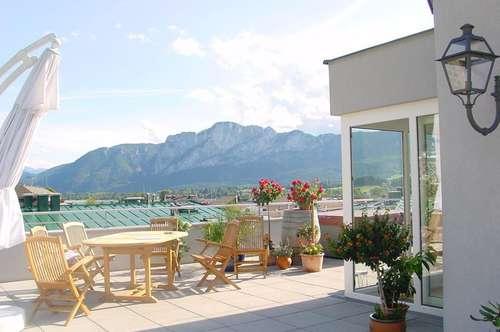 Über den Dächern von Mondsee....!   Elegante Dachterrassenwohnung mit sensationellem Panoramablick