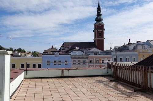 Eigentumswohnung mit großer Dachterrasse am Hauptplatz