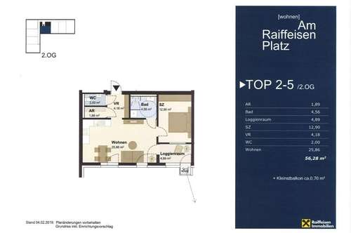 """Wohnen """"Am Raiffeisen Platz"""" TOP2-5 Typ3"""