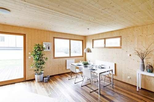 Doppelhaushälfte - Holzhaus