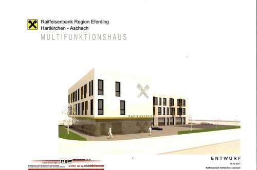 Wohnen im Multifunktionshaus Hartkirchen TOP2-8 Typ1
