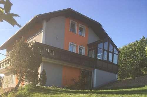 Einfamilienhaus mit schöner Aussicht