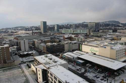 2-Zimmerwohnung mit herrlichem Blick über Linz