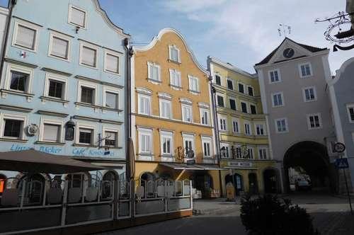 Wohnung mit Dachterrasse im Zentrum.