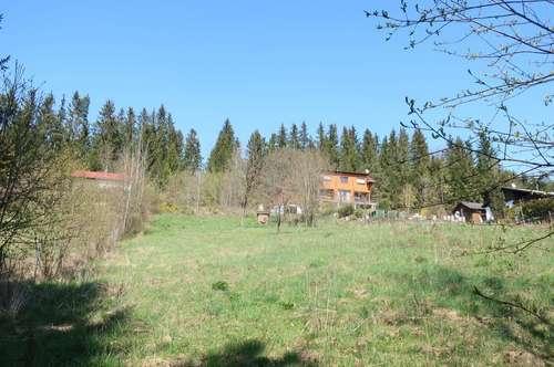 Grundstück auch für Wochenendhaus