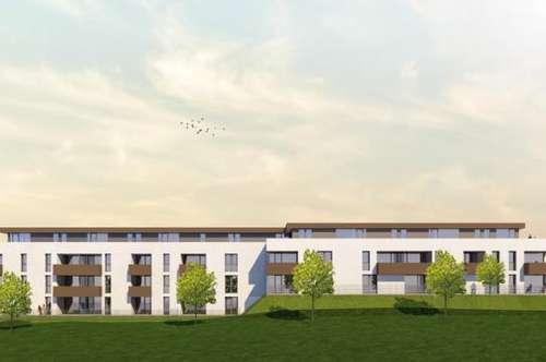 Moderne 4-Zimmer-Wohnung im Obergeschoß mit 26 m² Dachterrasse