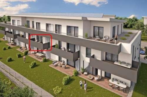 Neubau 2-Zimmer-Mietwohnung mit Balkon in attraktiver Wohngegend