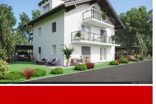 Neubau 2-Familienhaus in Straßwalchen.