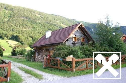 Ruhe - Wohnen in der Natur - Holzblockhaus in Schneebergdörfl!