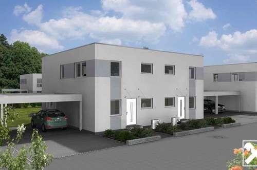 Traumhaftes Wohnen im Doppelhaus in Wieselburg - Stadt und Natur an einem Ort Haustyp 118