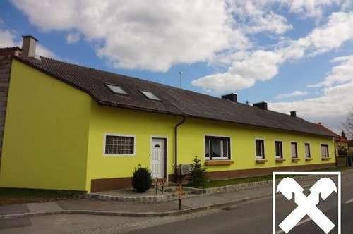 Haus mit 2 Wohneinheiten und Hallen auf riesigem Grundstück