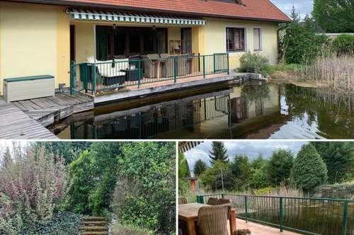 Ihr Haus mit Badeteich und Gartentraum!