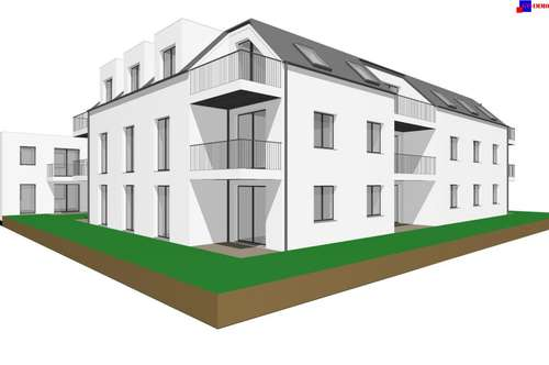 Purbach am See - PROVISIONSFREI! 76 m² Neubau mit Garten und Loggia!