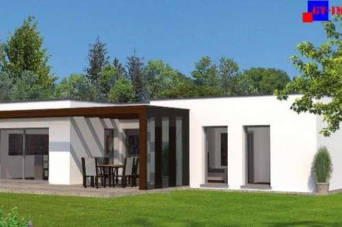 7000 Eisenstadt - Zentrumsnähe neuer 110m² Bungalow auf 600m² Süd Grund in herrlicher Grünruhelage!