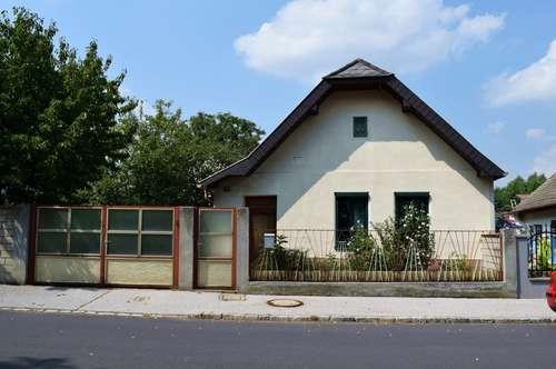 Typisch burgenländisches Häuschen in Kleinmutschen